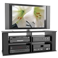 Black Open 60 Inch TV Stand - Fillmore