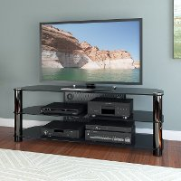 Black TV Stand (58 Inch) - New York