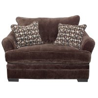 Casual Contemporary Chocolate Brown Chair - Acropolis
