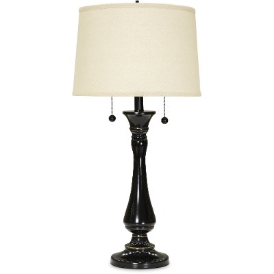 Bronze Twin-Pull Table Lamp