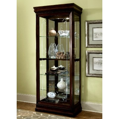 Louis Philip Brown Curio | RC Willey Furniture Store