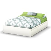 3160211 White Full Size Storage Bed - Step One