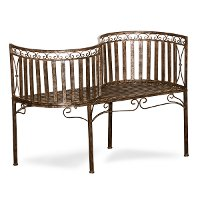 4 Seasons Curved Garden Bench