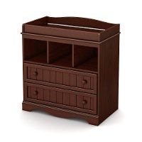 3519330 Espresso Changing Table - Savannah