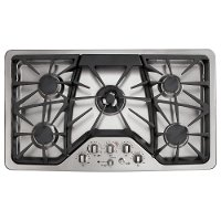 CGP650SETSS Cafe 36 Inch Stainless Steel Gas Cooktop