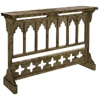 Rustic Prairie Console Table