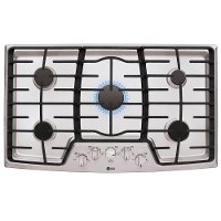 LCG3611ST LG 36 Inch 5-Burner Gas Cooktop - Stainless Steel