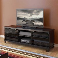 Black TV Stand (59 Inch) - Holland