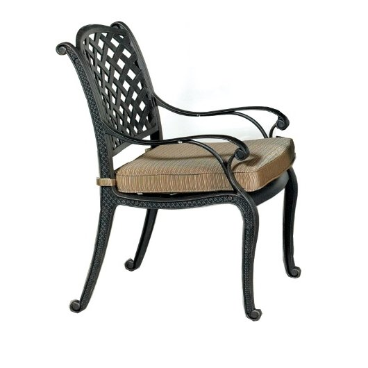 Outdoor Patio Chair with Cushion - Moab