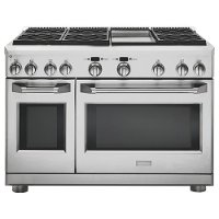 ZGP486NDRSS Monogram Gas Professional Range with 6 Burners and Griddle (Natural Gas) - Stainless Steel
