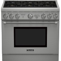 PRD366GHU Thermador 36 Inch Professional Series Pro Harmony Standard Depth Dual Fuel Range PRD366GHU