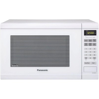 Nn Sn651w Panasonic 1 2 Cu Ft Microwave Oven With Inverter Technology White