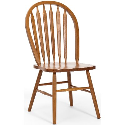 Country Oak Dining Room Chair - Classic Chestnut