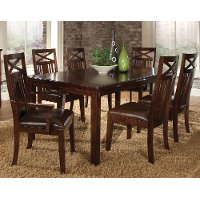 Dining Table Traditional Sonoma Dark Oak RC Willey