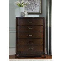 Contemporary Brown Chest of Drawers - Avalon