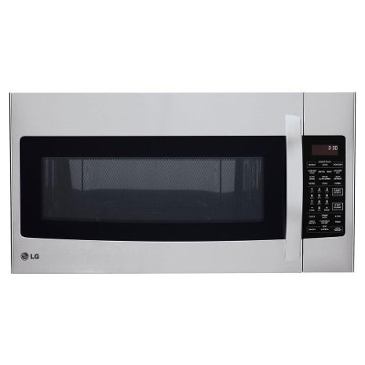 Lmvh1711st Lg 1 7 Cu Ft Over The Range Microwave Stainless Steel