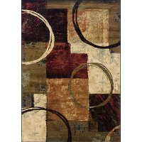 5 x 8 Medium Brown Area Rug - Hudson
