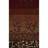 8 x 10 Large Red Area Rug - Studio