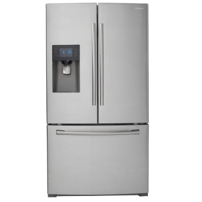 RF263BEAESR Samsung French Door Refrigerator with LED Lighting - 36 Inch Stainless Steel