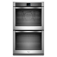 WOD93EC7AS Whirlpool 27 Inch Double Wall Oven - 8.6 cu. ft. Stainless Steel