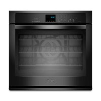 WOS92EC0AB Whirlpool Single Wall Oven - 5.0 cu. ft. Black