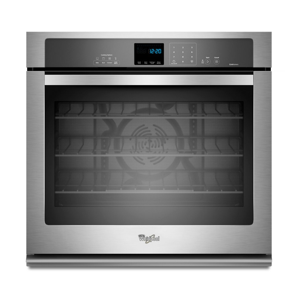 Whirlpool 5 0 Cu Ft Single Wall Oven Stainless Steel Rc Willey Furniture