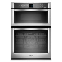 WOC95EC0AS Whirlpool Wall Oven with Microwave Combo - Stainless Steel