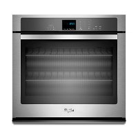 WOS51EC0AS Whirlpool Single Wall Oven - 5.0 cu. ft. Stainless Steel