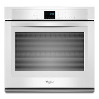 WOS51EC7AW Whirlpool 27 Inch Single Wall Oven - White