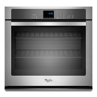 WOS51EC7AS Whirlpool 22 Inch Single Wall Oven - Stainless Steel