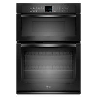 WOC54EC7AB Whirlpool 27 Inch Combo Wall Oven with Microwave - Black