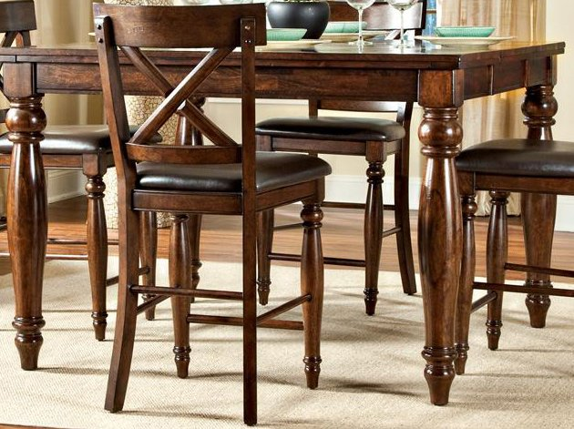 Raisin 5 Piece Counter Height Dining Set Kingston  : Counter Height Dining Table Traditional Kingston Raisin rcwilley image1 from www.rcwilley.com size 630 x 471 jpeg 69kB