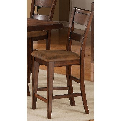 Burnished Brown 24 Inch Counter Height Stool - Veca