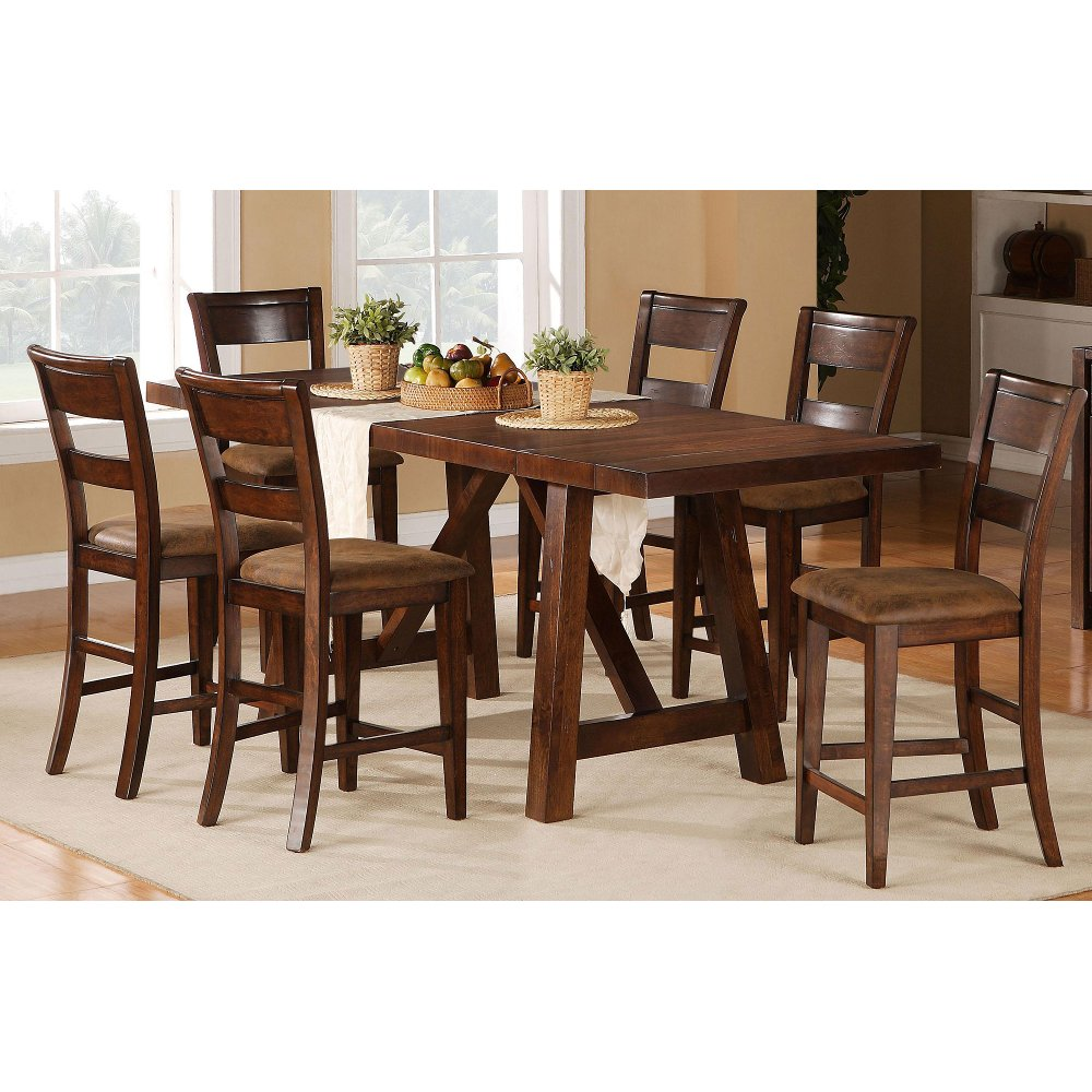 ... 5 Piece Dining Set   Transitional Veca Burnished Mango ... Part 66