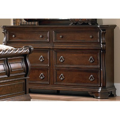 Traditional Brown Dresser - Arbor Place
