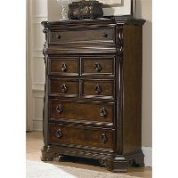 Traditional Brownstone Chest of Drawers - Arbor Place