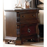Traditional Brown Nightstand - Arbor Place