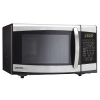 DMW077BLSDD Danby 0.7 cu. ft. Countertop Microwave Oven - Stainless Steel