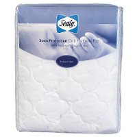 Crib Mattress Pad, Stain Protection - Sealy®