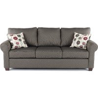 Casual Contemporary Slate Sofa - Seaside