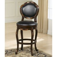 63369 Cherry/Copper 24 Inch Counter Stool - Alaina