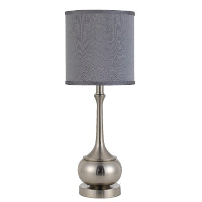 Brushed steel table lamp rc willey furniture store brushed steel table lamp aloadofball Image collections