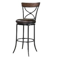 4671-826 Chestnut X-Back 26 Inch Counter Stool - Cameron