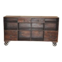 Rustic Brown Sideboard