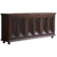 Crown Moulding Brown Sideboard