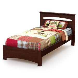 3246189 sweet morning south shore twin headboardfootboardbedframe - Twin Bed Frames Cheap