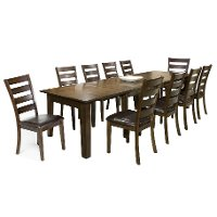 11 Piece Dining Set - Kona Raisin
