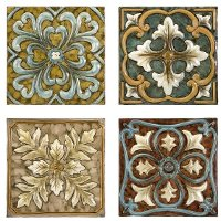 Wall Tile Set (Set of 4) - Casa