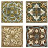 Wall Tile Set of 4 - Casa