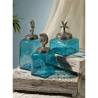 Sea Life Canister Set Rc Willey Furniture Store